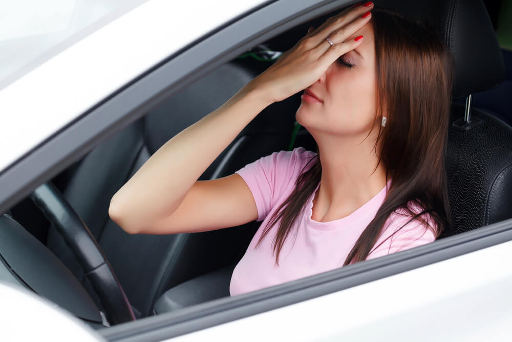 Mirosul de gaz in interiorul masinii